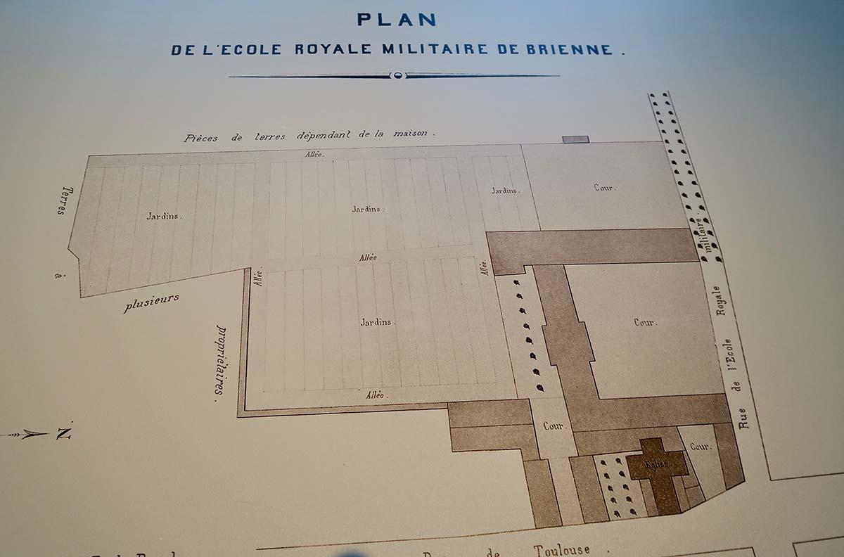 Plan de l'Ecole Royale Militaire