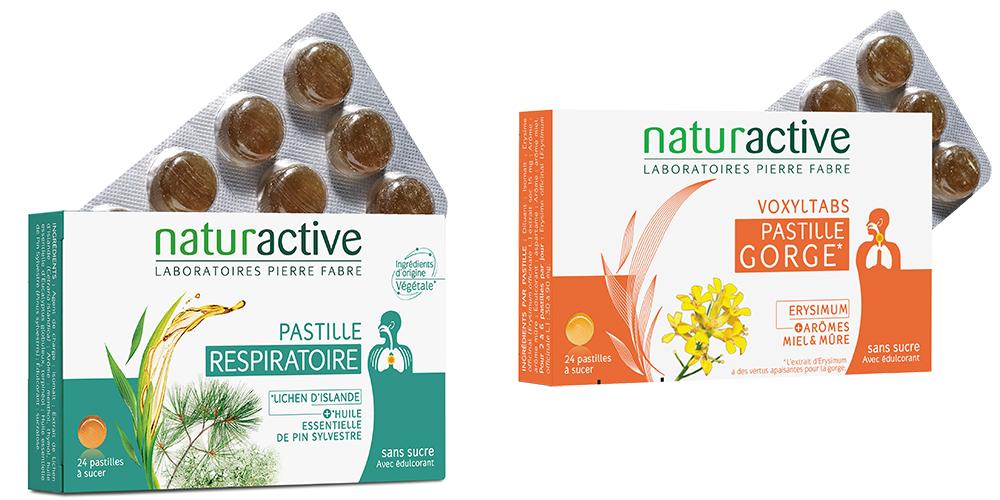 Pastilles respiratoire Naturactive