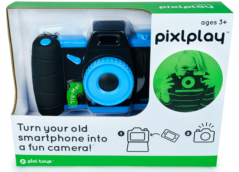 Pixlplay Front of Box