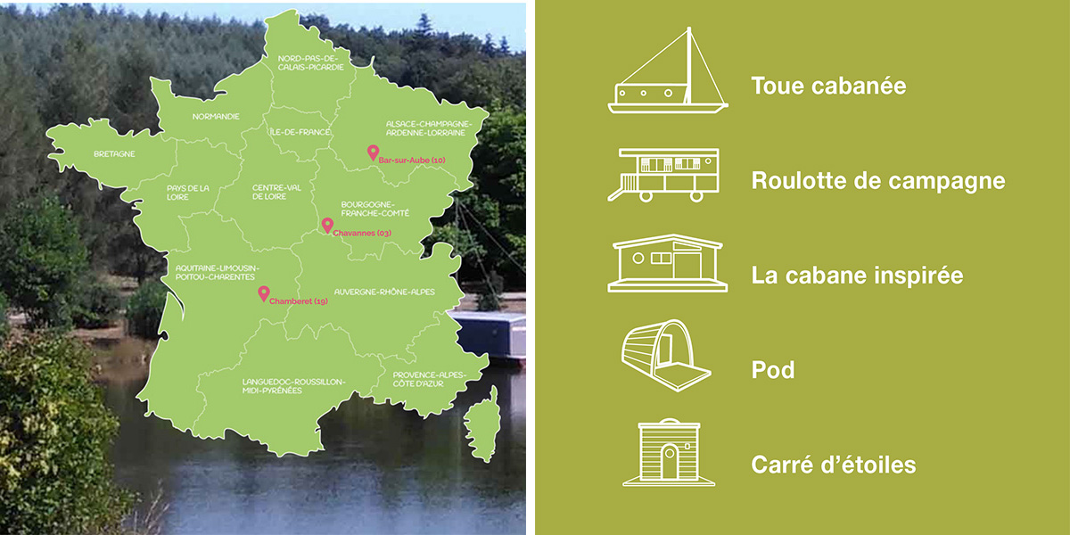 Carte des villages Slowmoov