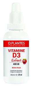 Vitamine D3 Enfant