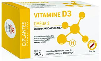 Vitamine D3 Oméga 3