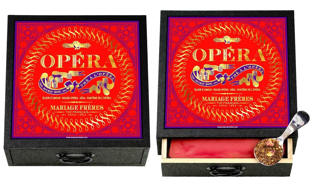 thé à l'opéra® – boîte à musique