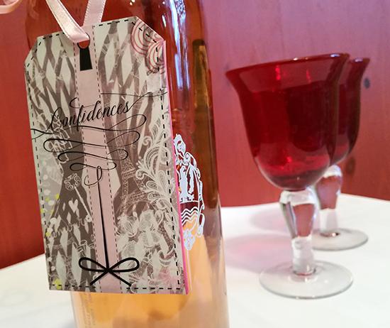 Pour la Saint-Valentin, le Château le Bouïs fait la part belle à sa Cuvée Confidences, fruit du travail d'une vigneronne passionnée et de Chantal Thomass.