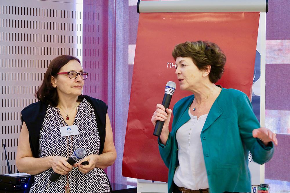 Nicole Darmon et Marie-Claude Bertiere