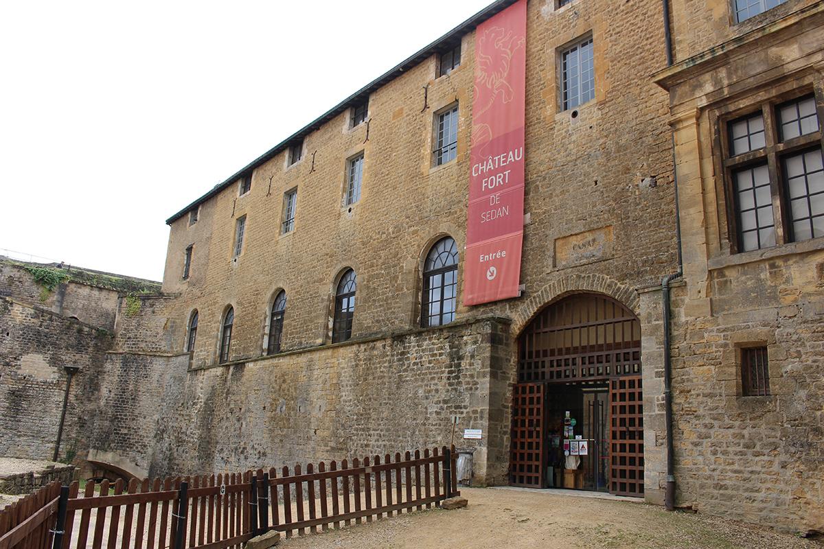 Entrée du Château Fort
