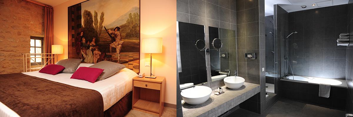 Chambres tradition et Sale de bain