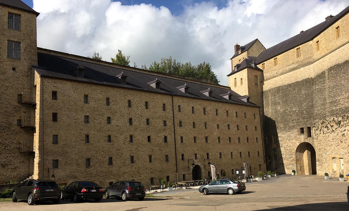 L'hôtel **** Le Château Fort de Sedan