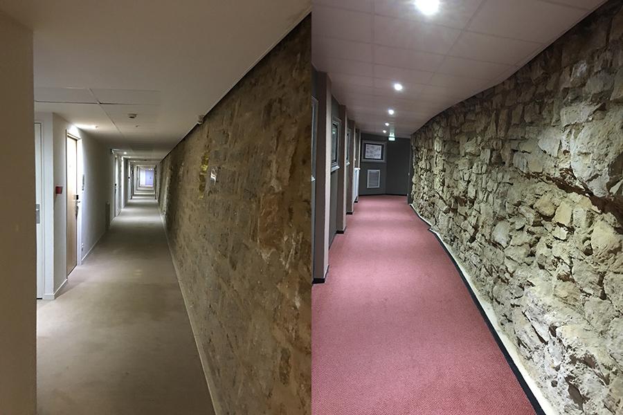 Couloirs d' l'hôtel