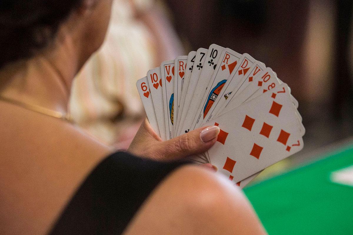 Grimaud est le fournisseur officiel des compétitions internationales de bridge ou de poker.…©Caroline Paux