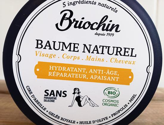 Le Lait Naturel et le Baume Naturel. Briochin sont deux soins Bio multi-usages pour les cheveux, le visage, le corps, les mains, les pieds…