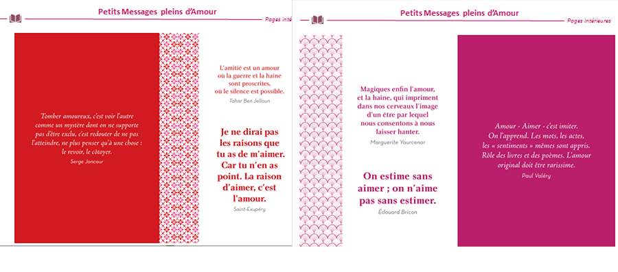 Carnets de messages