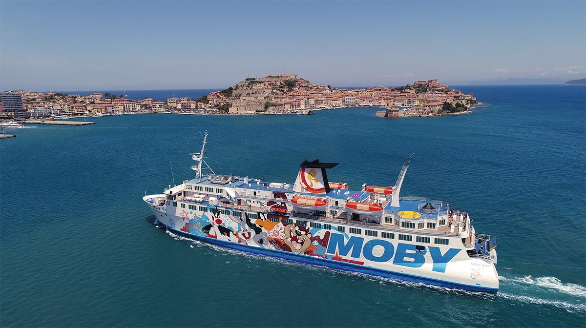 mini-croisière Moby Lines