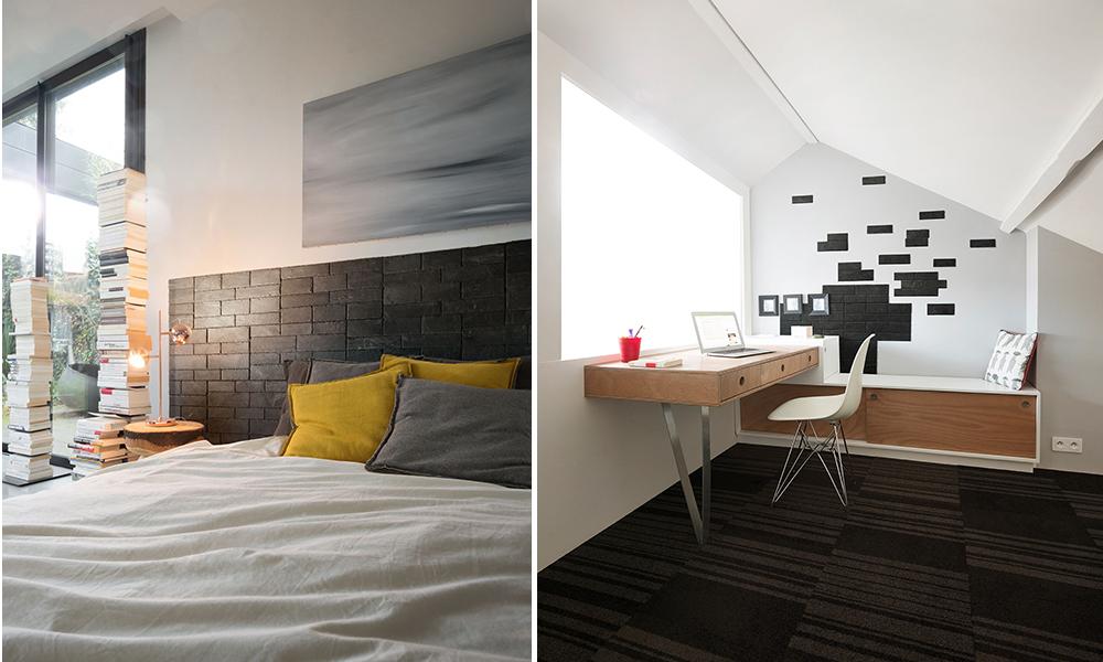 pierre naturelle auto adh sive pour la d coration murale. Black Bedroom Furniture Sets. Home Design Ideas
