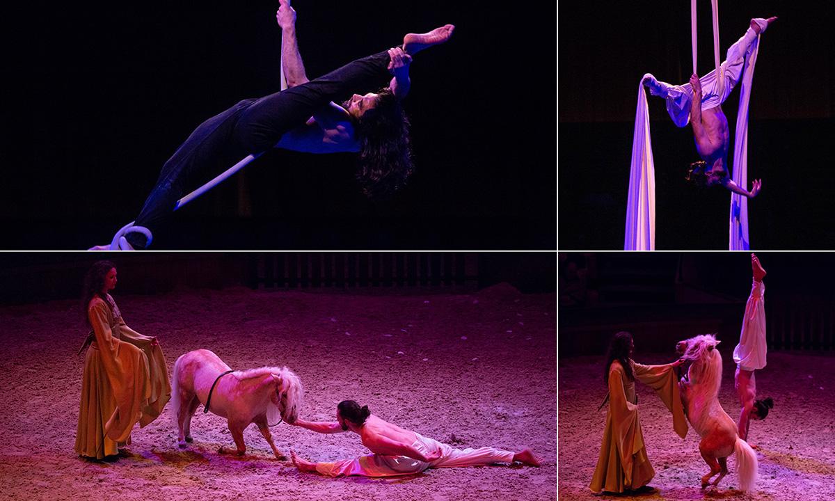 Un acrobate danseur