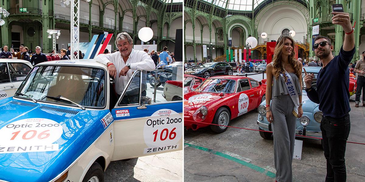 Le chef étoilé Michel Chabran, de Pont-de-l'Isère, dans la Drôme et Eva Colas, Miss Corse et Dauphine de Miss France, ont au départ ! ©Caroline Paux
