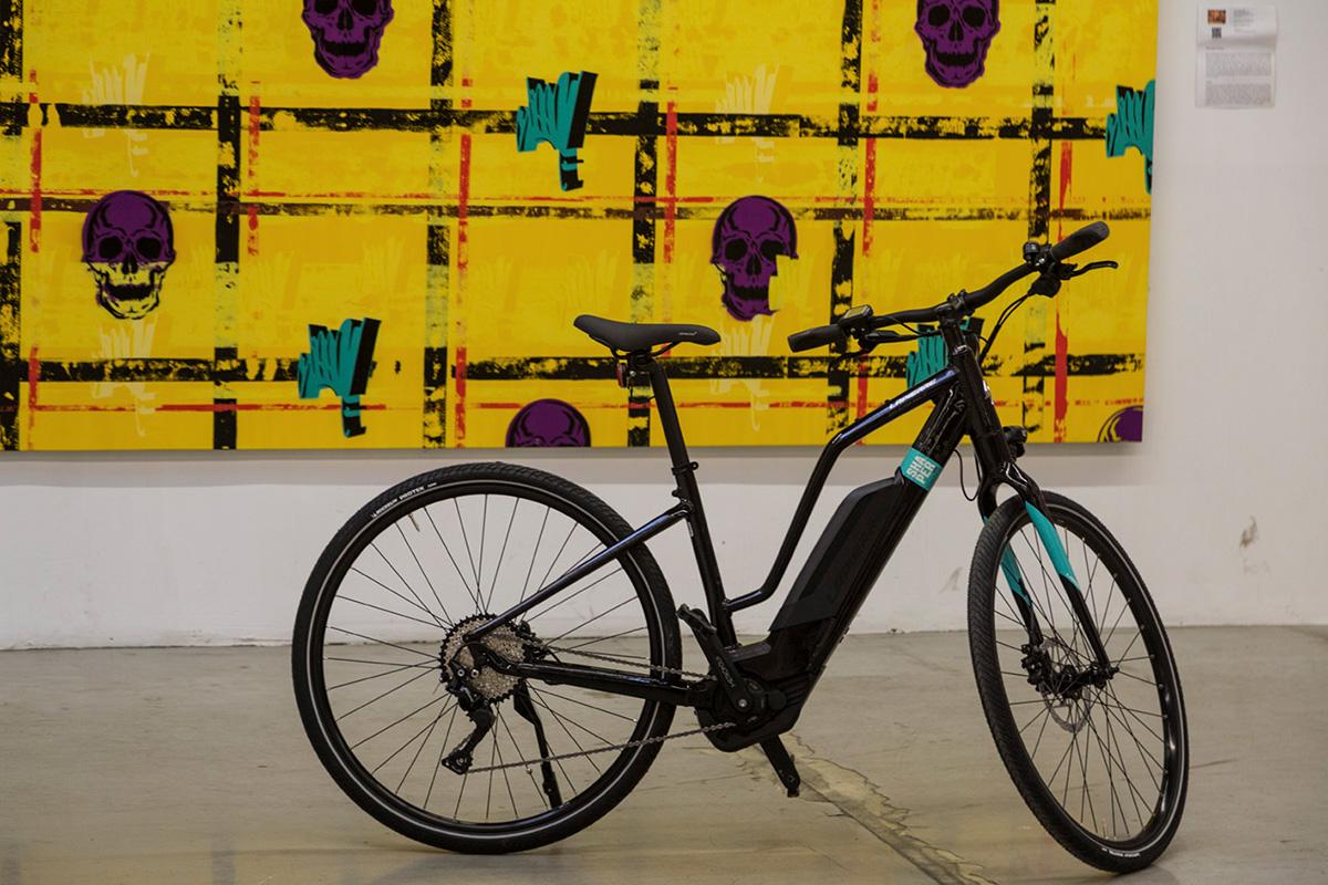 Le vélo Overvolt Shaper, le sportif.