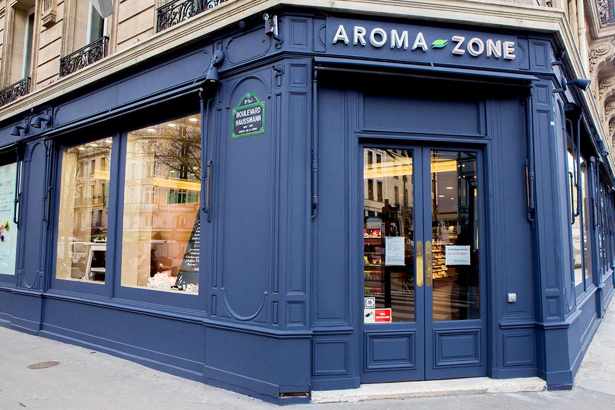 boutique Aroma Zone Haussmann