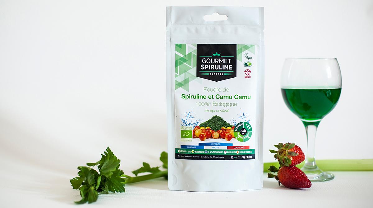 spiruline Camu Camu