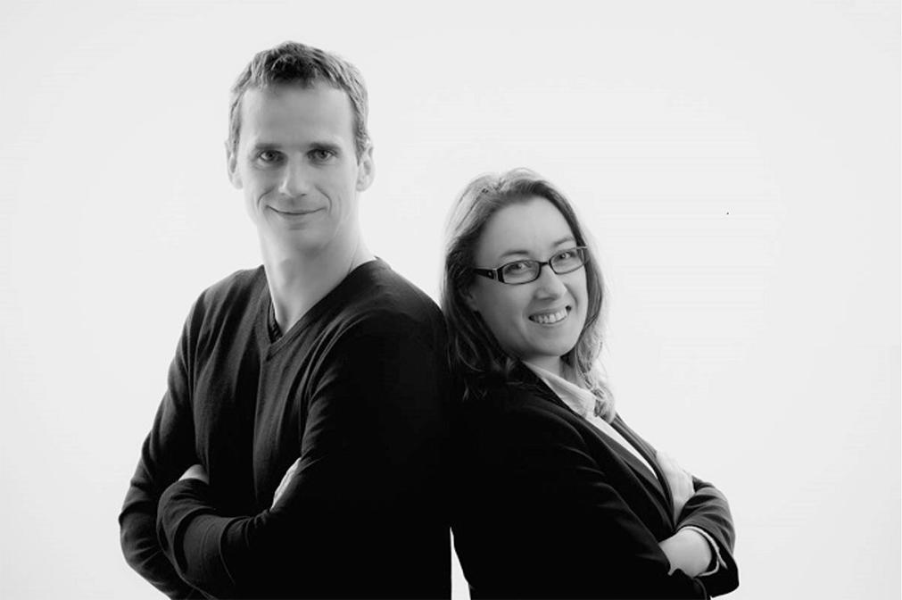Erwan Taulois et Françoise