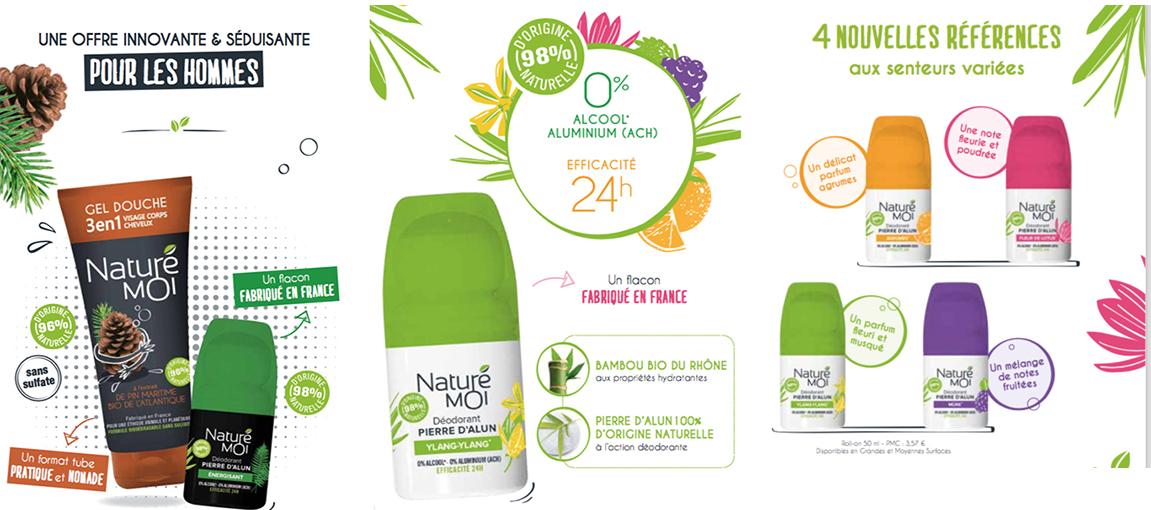 Nature et moi produits