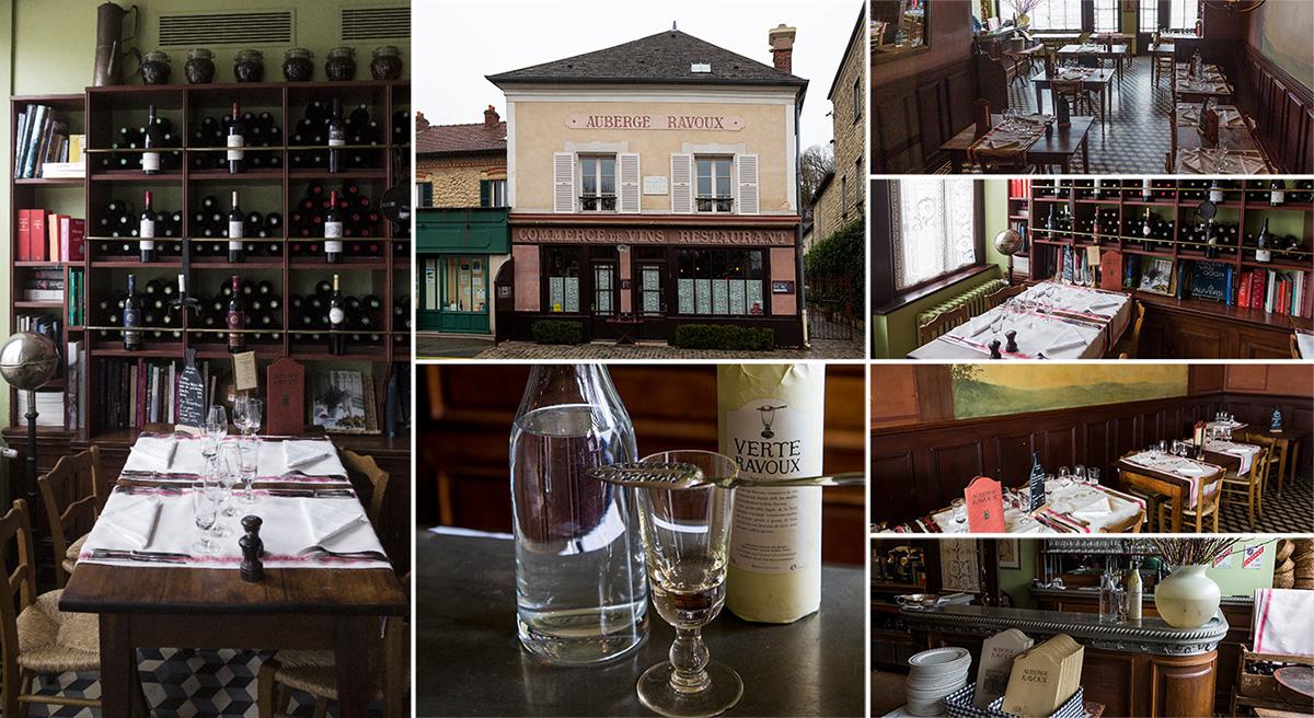 L'Auberge Ravoux est l'incontournable d'Auvers-sur-Oise et l'on y mange très bien
