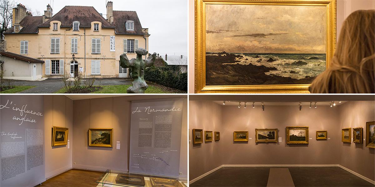 """Le musée Daubigny accueille l'exposition """"Impressions marines"""" jusqu'au 26 août 2018."""