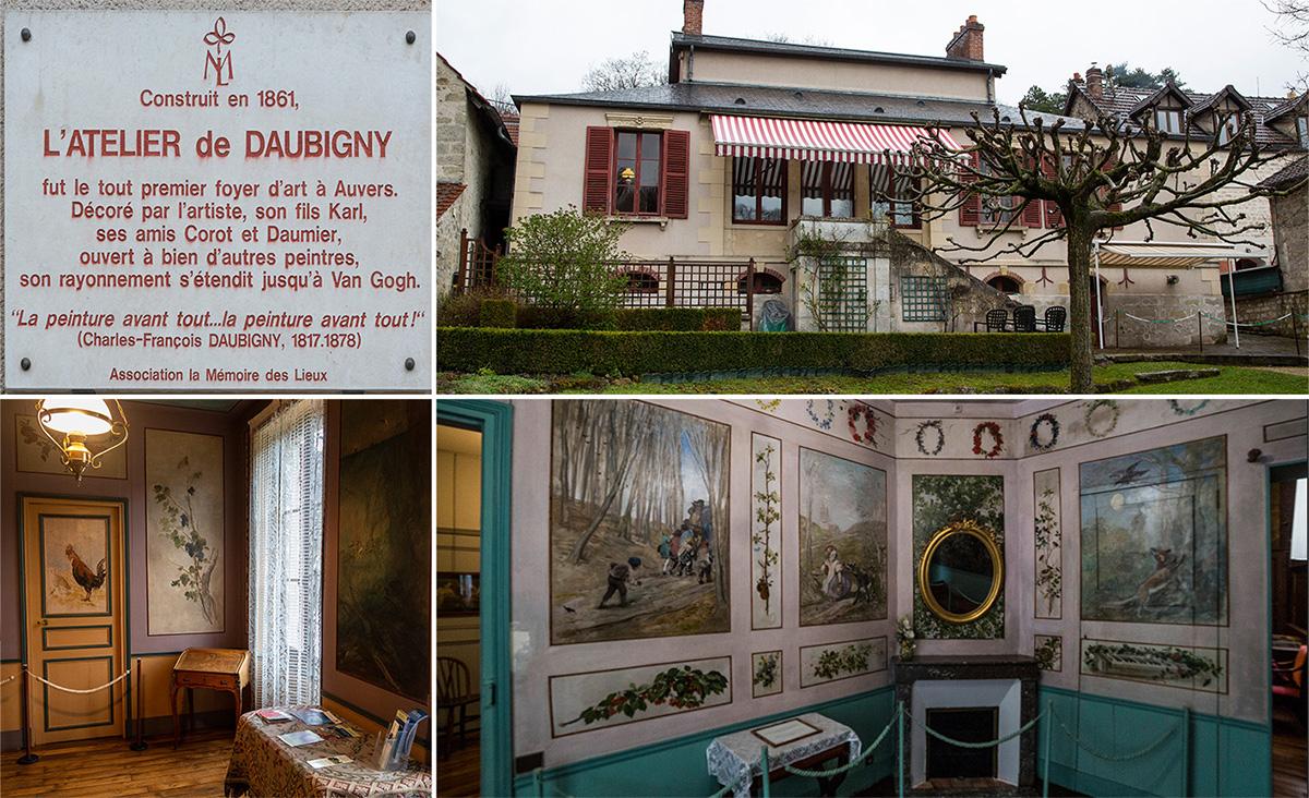 La Maison-atelier Daubigny, une maison toute simple de l'extérieur, mais si originale à l'intérieur…