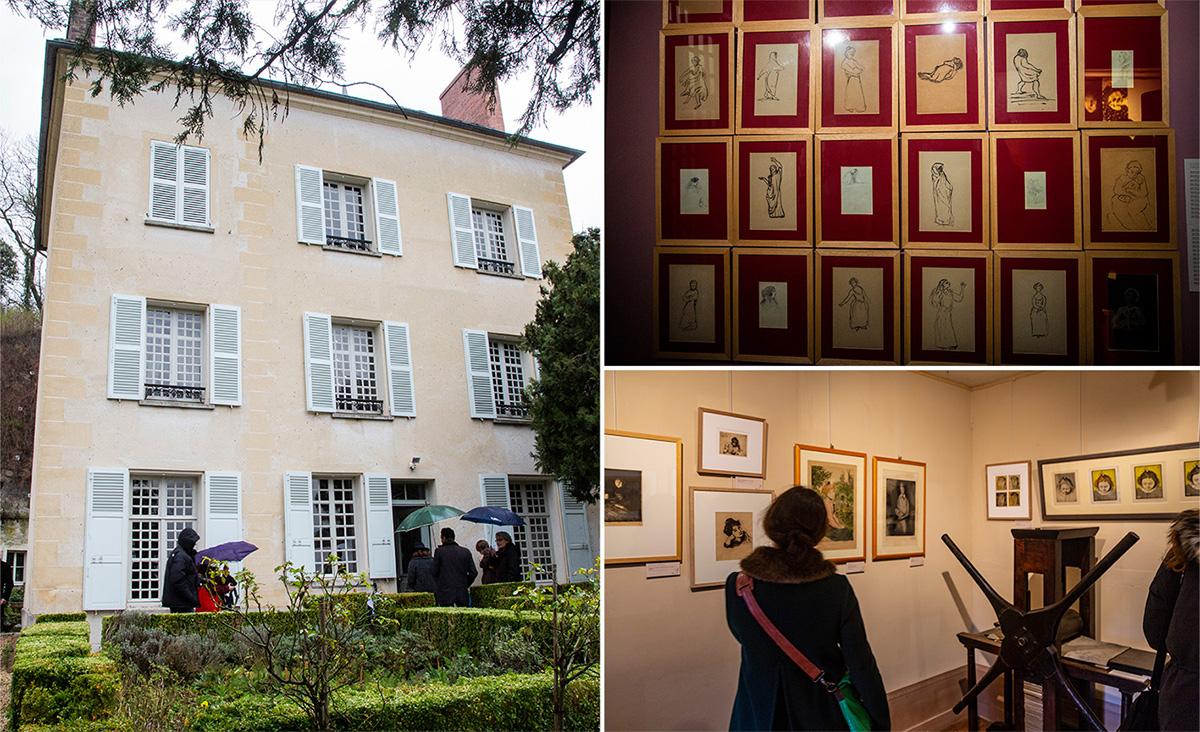 La Maison du Docteur Gachet a été le lieu de nombreuses rencontres entre les artistes qui venaient se changer les idées à Auvers-sur-Iise et profiter de la lumière et de la campagne