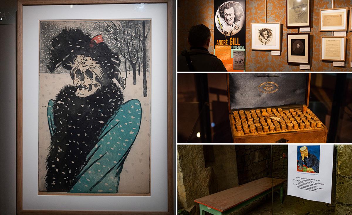 La Maison du Docteur Gachet présente une très belle exposition sur le thème de la mélancolie.