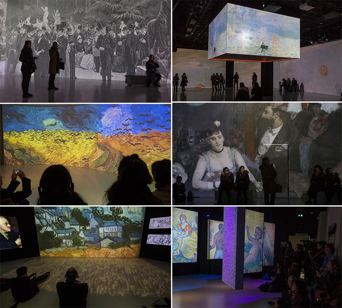 Le Château d'Auvers-sur-Oise propose un parcours immersif dans l'univers des impressionnistes grâce aux nouvelles technologies.