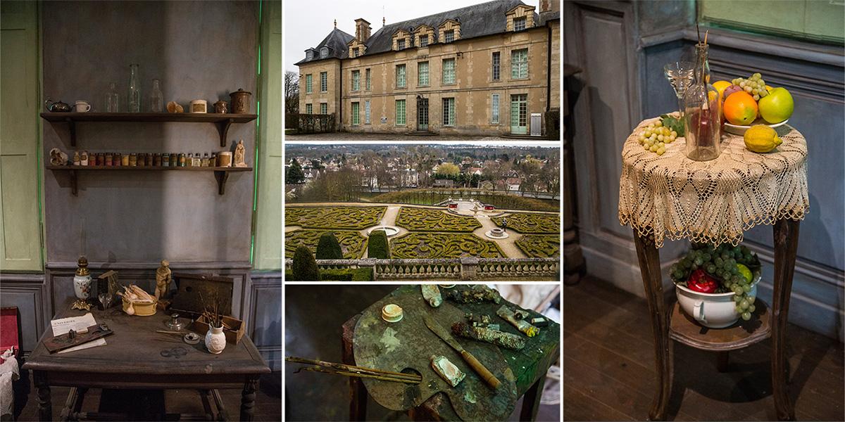 Le Château d'Auvers-sur-Oise emmène les visiteurs dans l'univers des impressionnistes.