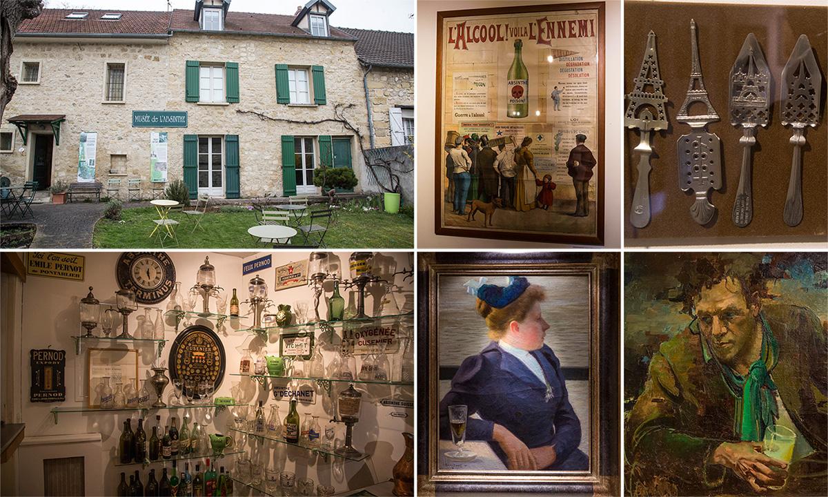 """Le musée de l'absinthe, une visite riche en informations sur """"la fée verte""""."""