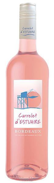 Carrelet d'Estuaire, Bordeaux rosé 2017