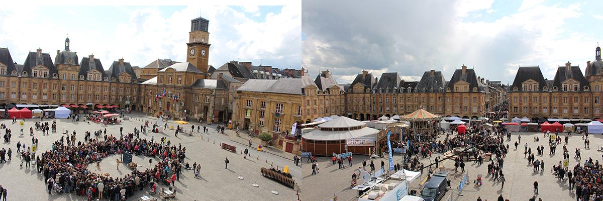 La Place Ducale à Charleville Mézières