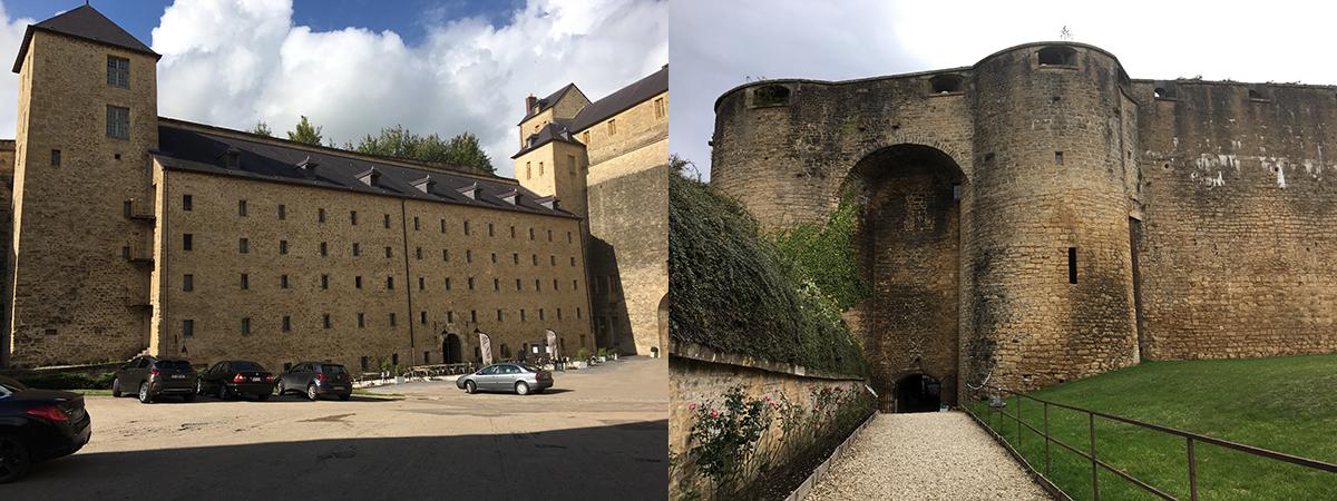 Le château Fort de Sedan et son hôtel