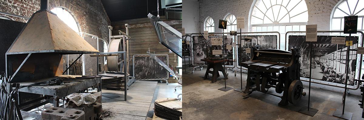 Le musée de la Métallurgie Ardennaise