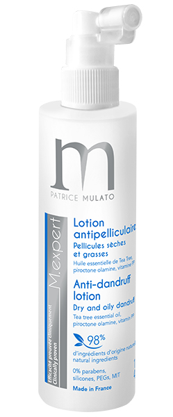 Lotion antipelliculaire