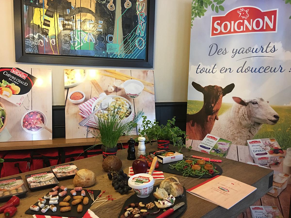 Fromages de chèvres Soignon