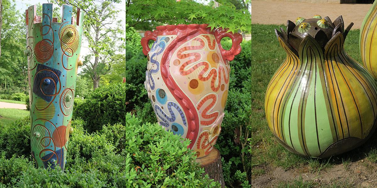 Céramiques monumentales de Frédérique Fleury
