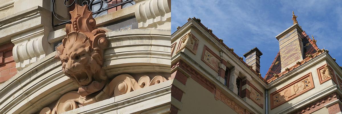 Villa Perrusson détails©Frédérique Lebel
