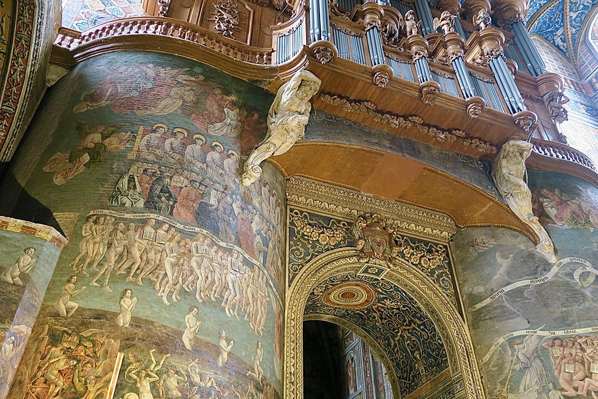 Notre-Dame du Bourg à Rabastens, un joyau de style gothique occitan.