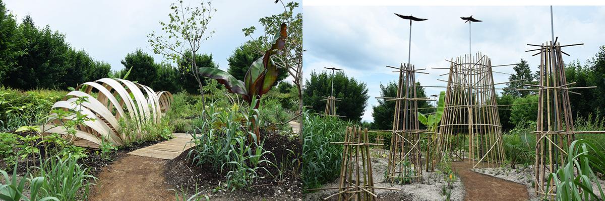 Le jardin de Vasques et Métamorphose