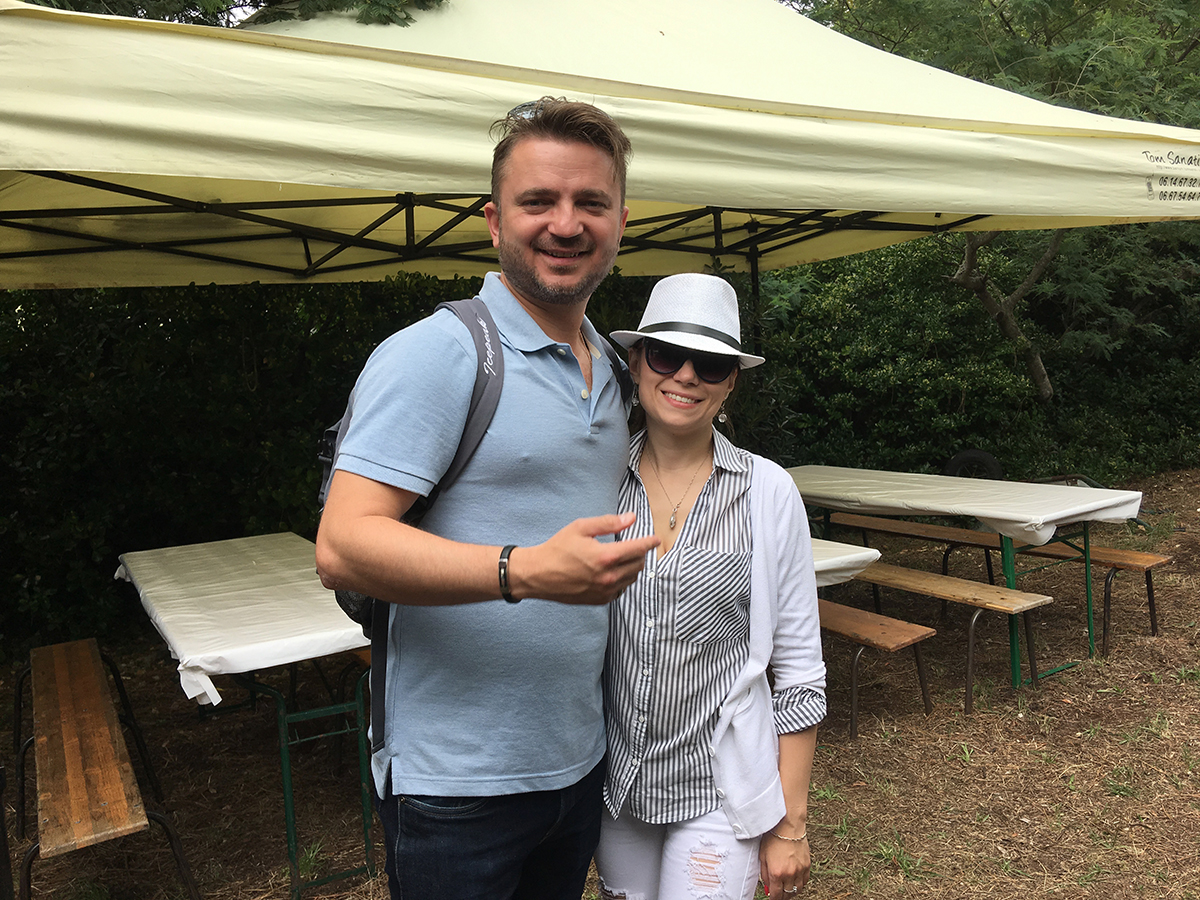 Vladislav Lavrik et son épouse