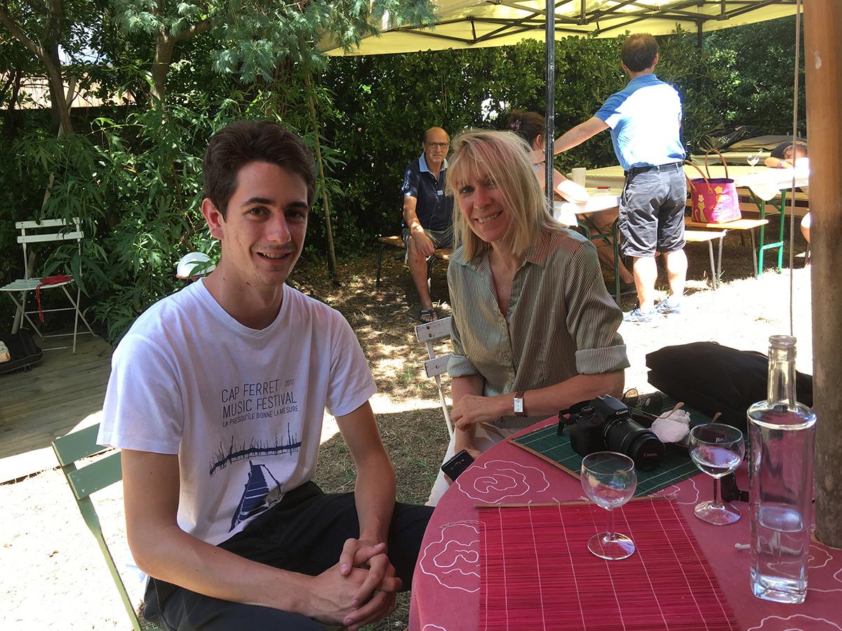 Félix Le Tanneur et Isabelle Jolie