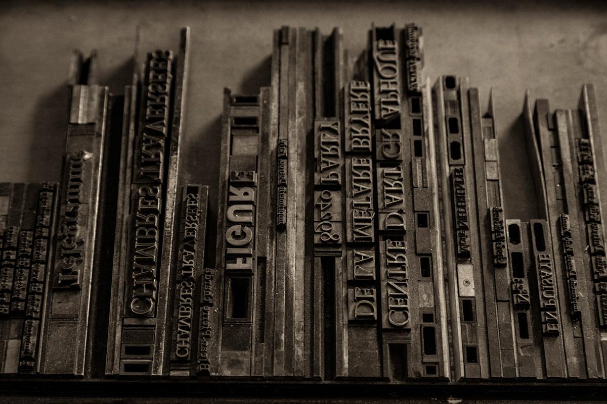 Lettres Typographiques