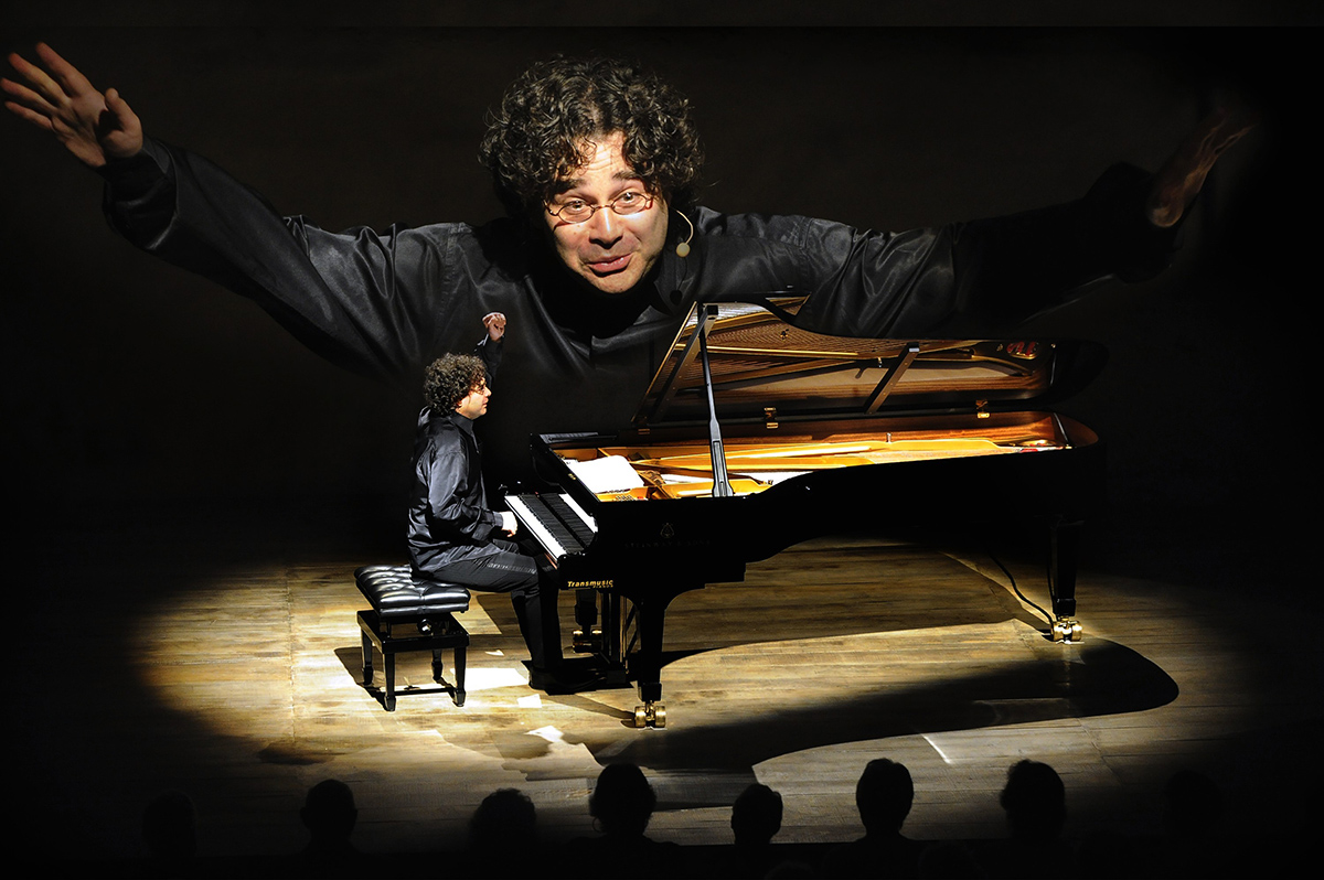 Chaise dieu 2010 le recital pascal amoyel pianiste le 20 aout 2010 photo francis campagnoni