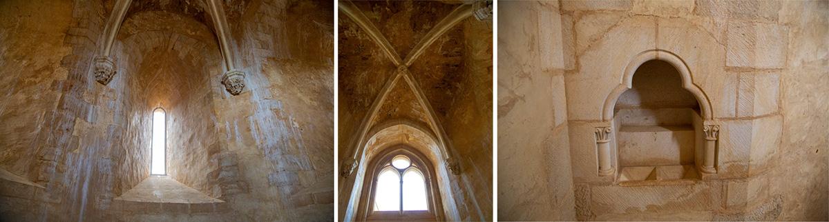 La chapelle. En 2018, lescharpentiers assembleront au sommet de la tour de la chapelleles premières charpentes en poivrière. ©Caroline Paux