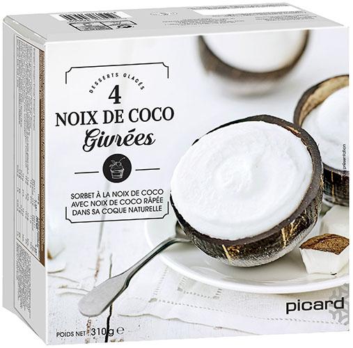 Noix de Coco givrées