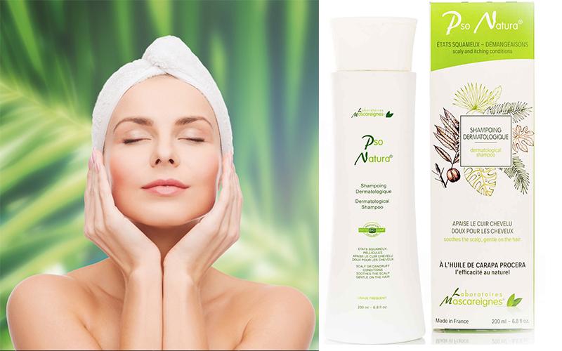 Le shampooing dermatologique Pso Natura